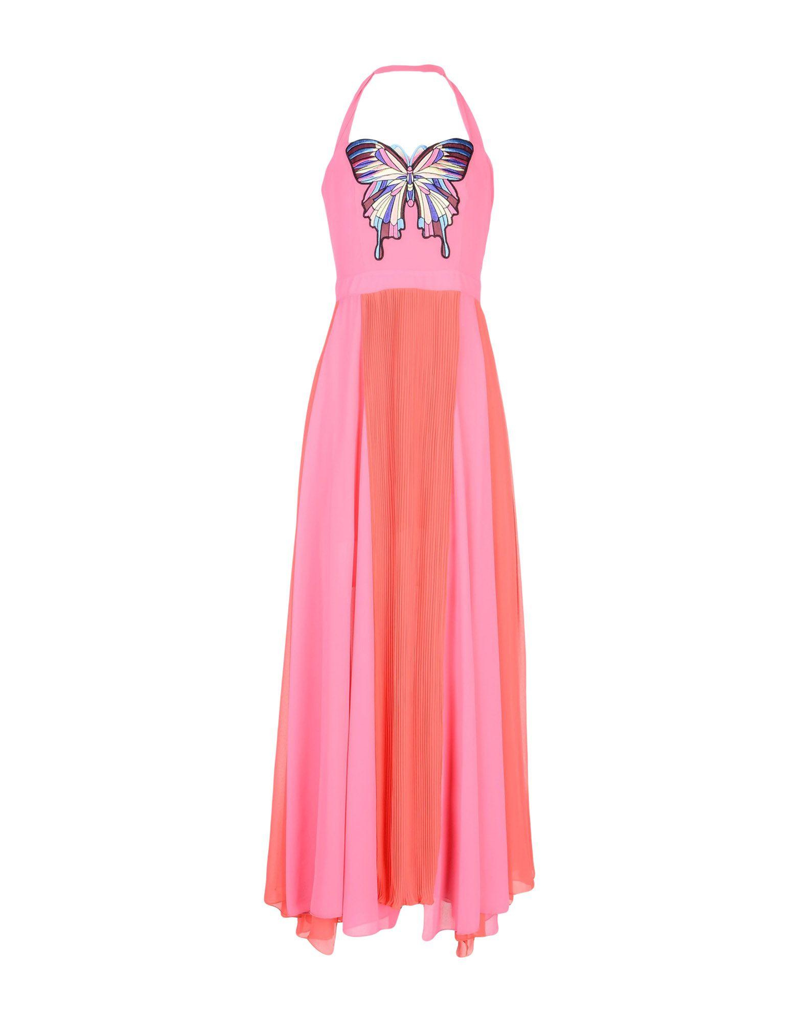 TENAX Длинное платье clio peppiatt длинное платье