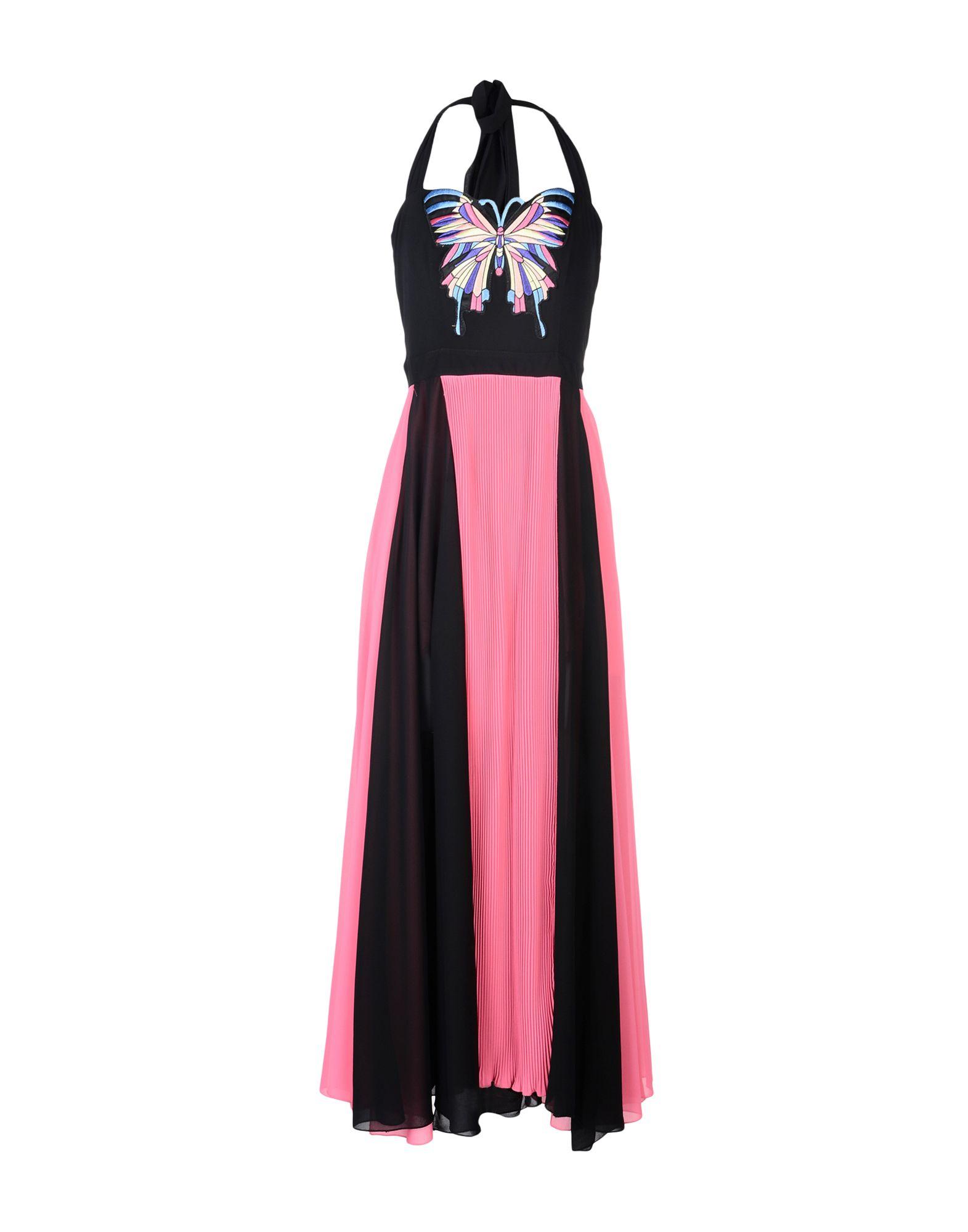 TENAX Длинное платье tenax платье длиной 3 4