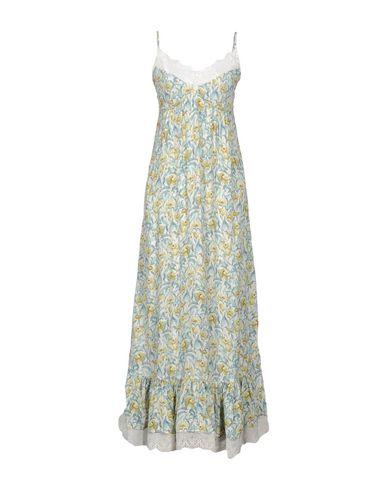 Фото - Женское длинное платье NAF NAF цвет слоновая кость