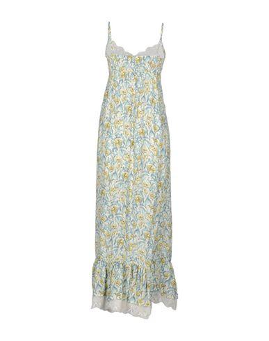 Фото 2 - Женское длинное платье NAF NAF цвет слоновая кость