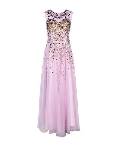 Купить Женское длинное платье  сиреневого цвета
