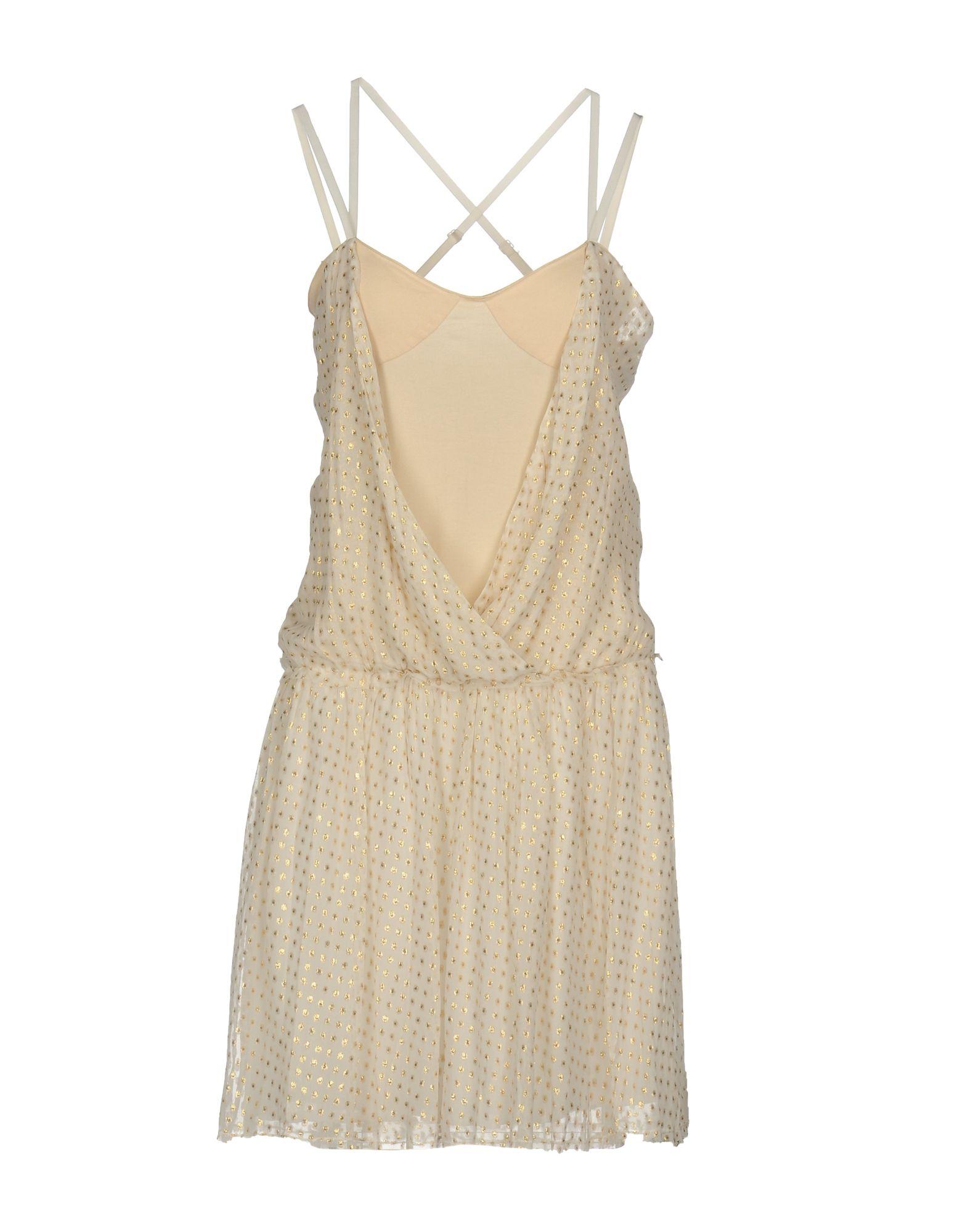 EXTE Короткое платье exte платье до колена