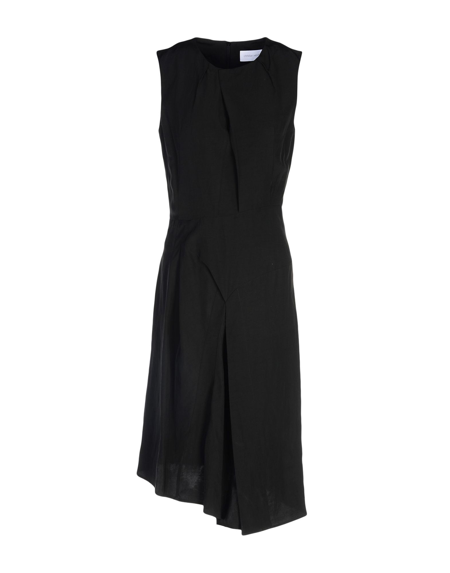 цена  CHRISTIAN WIJNANTS Платье до колена  онлайн в 2017 году