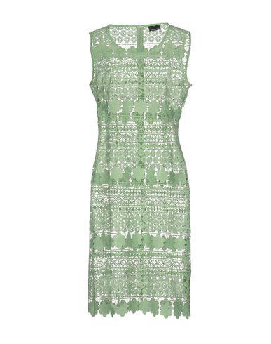 Фото - Платье до колена от ERMANNO DI ERMANNO SCERVINO светло-зеленого цвета