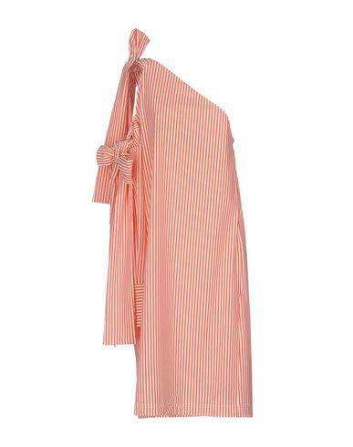 Купить Платье до колена от MSGM красного цвета