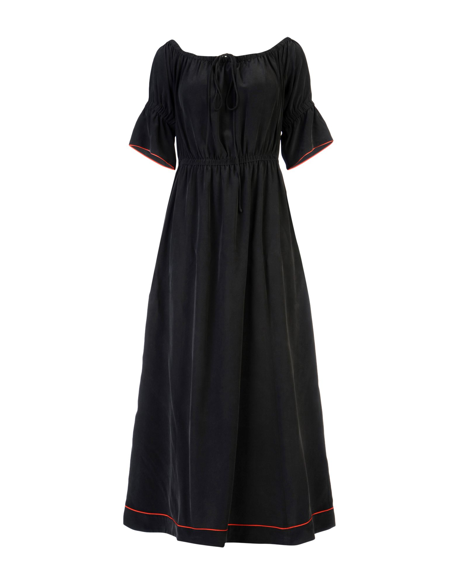 GANNI Платье длиной 3/4 цены онлайн
