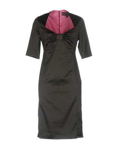 Фото - Платье до колена от GAI MATTIOLO JEANS черного цвета