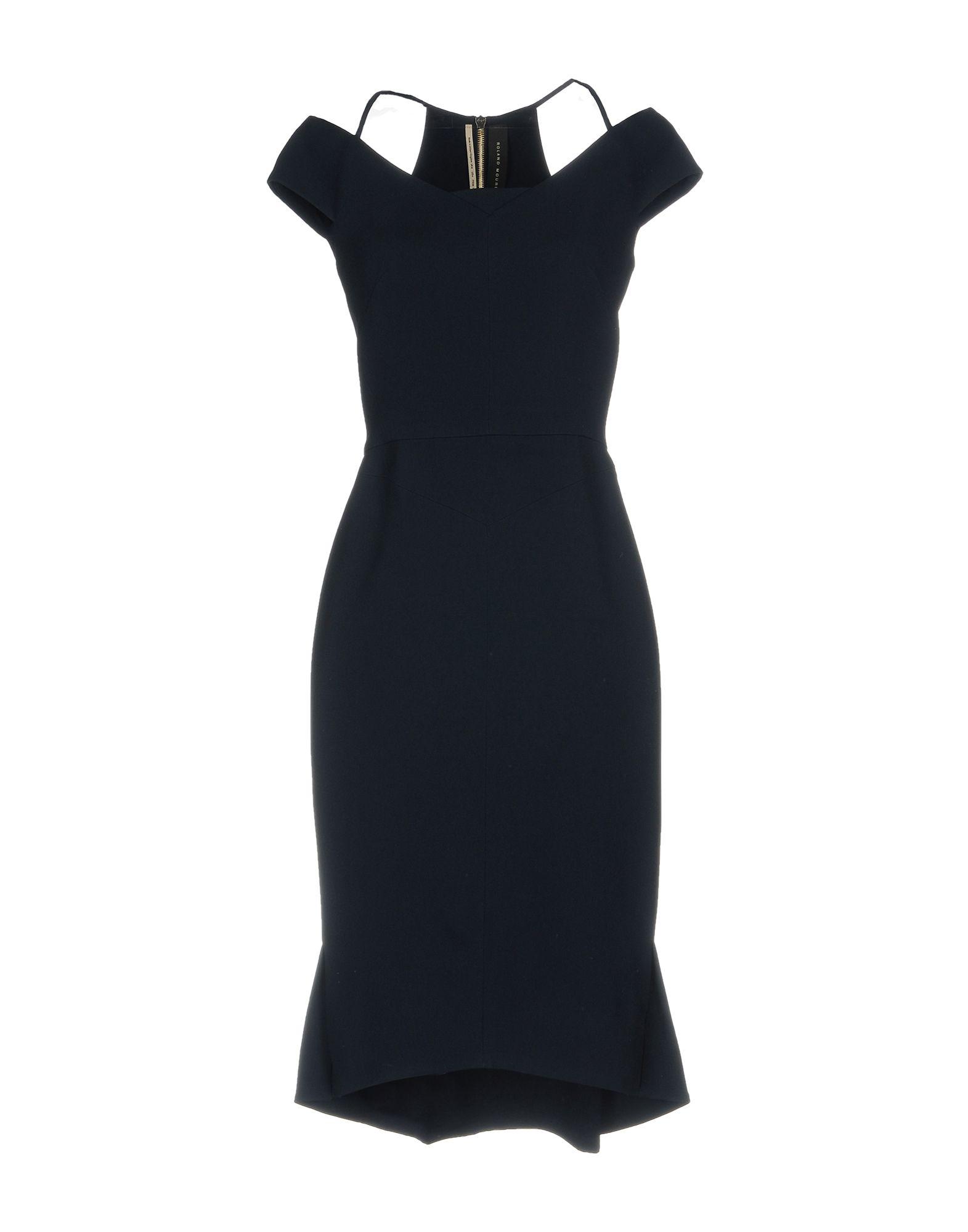 купить ROLAND MOURET Платье до колена по цене 77500 рублей