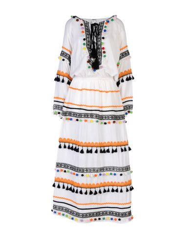 Фото - Женское длинное платье DODO BAR OR белого цвета