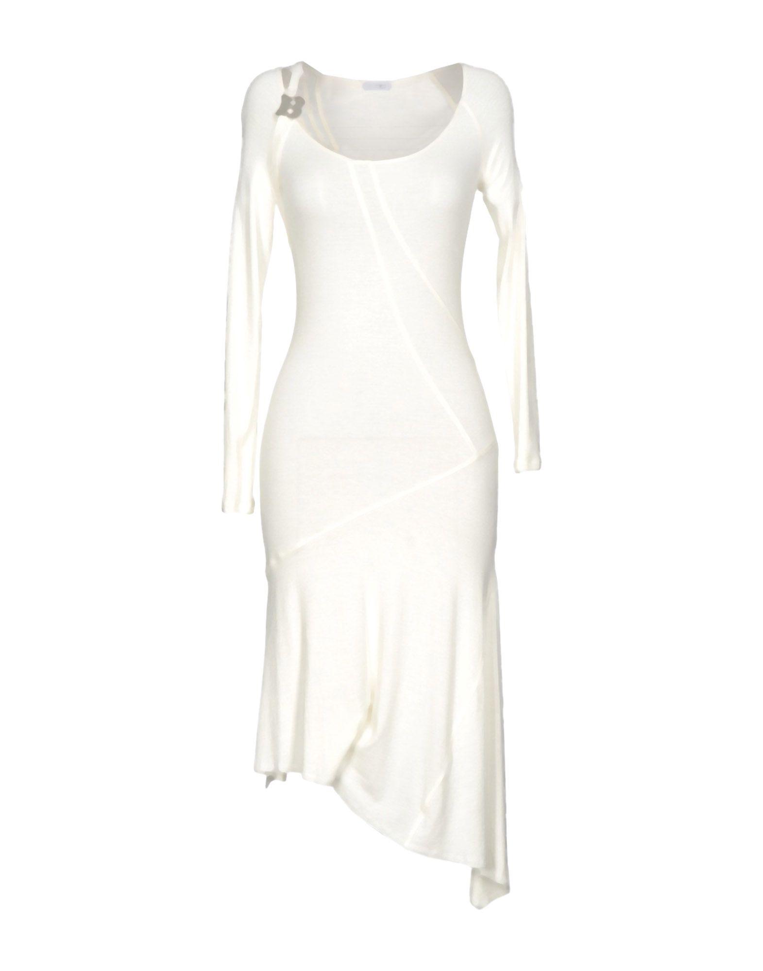 BLU BYBLOS Платье до колена платье для девочки bj8673 разноцветный byblos