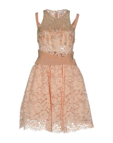 Фото - Женское короткое платье ELISABETTA FRANCHI GOLD цвет телесный