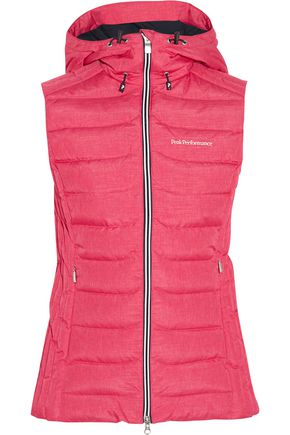 PEAK PERFORMANCE Quilted shell down ski gilet