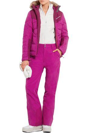 PEAK PERFORMANCE Zephyr faux fur-trimmed quilted shell ski jacket