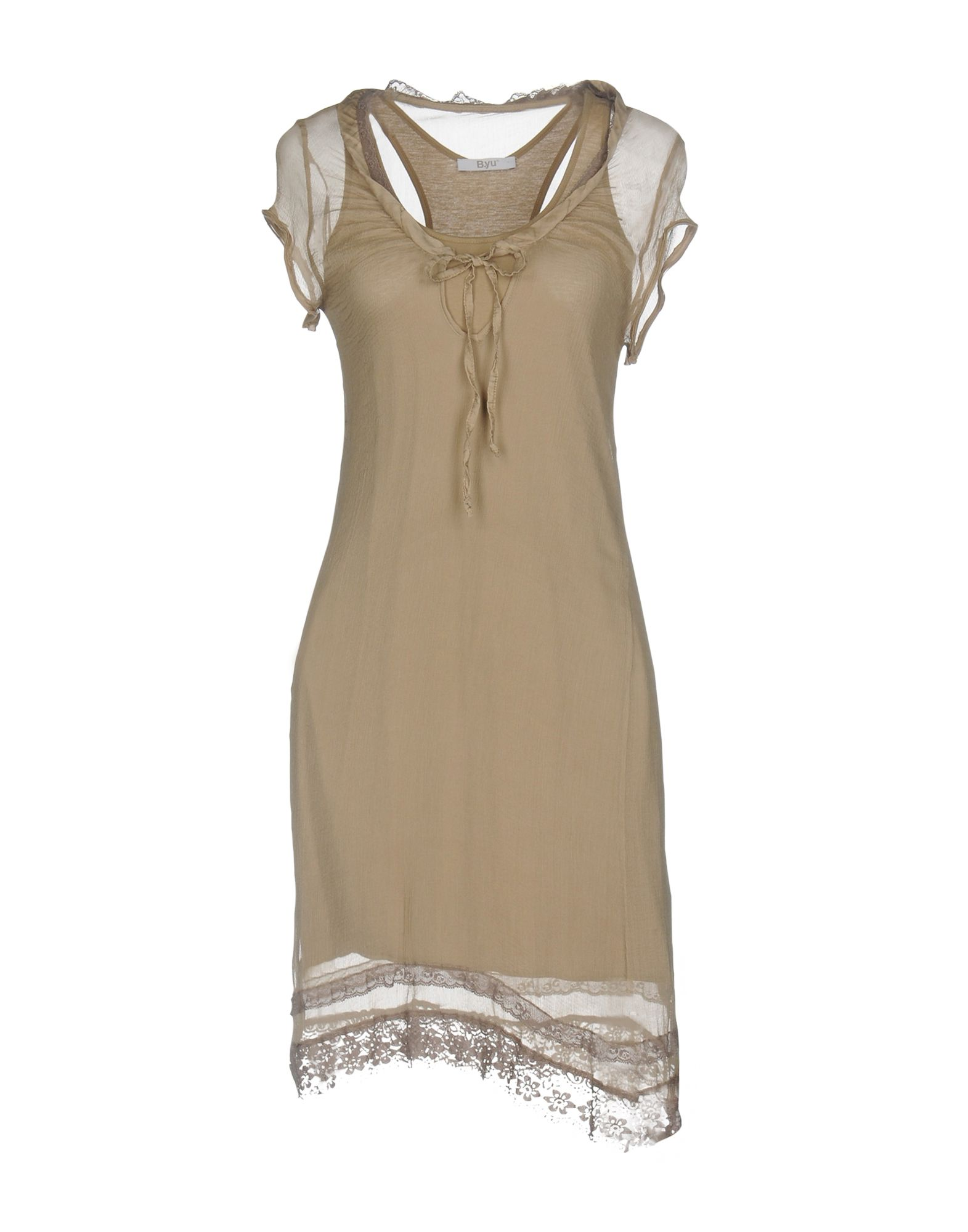 B.YU Короткое платье anais gillian комбинация