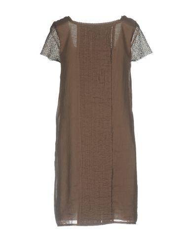 Фото 2 - Женское короткое платье ALPHA STUDIO цвета хаки