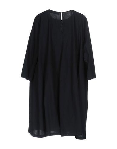 Фото 2 - Женское короткое платье JUCCA темно-синего цвета