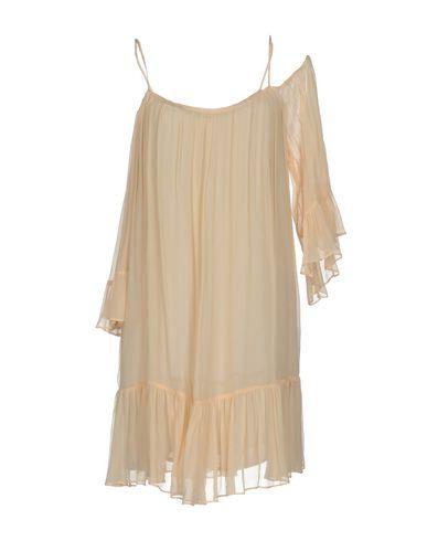 Фото - Женское короткое платье JUCCA бежевого цвета