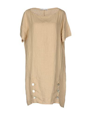 Фото - Женское короткое платье  цвет песочный
