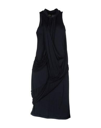 Фото - Платье до колена от McQ Alexander McQueen темно-синего цвета