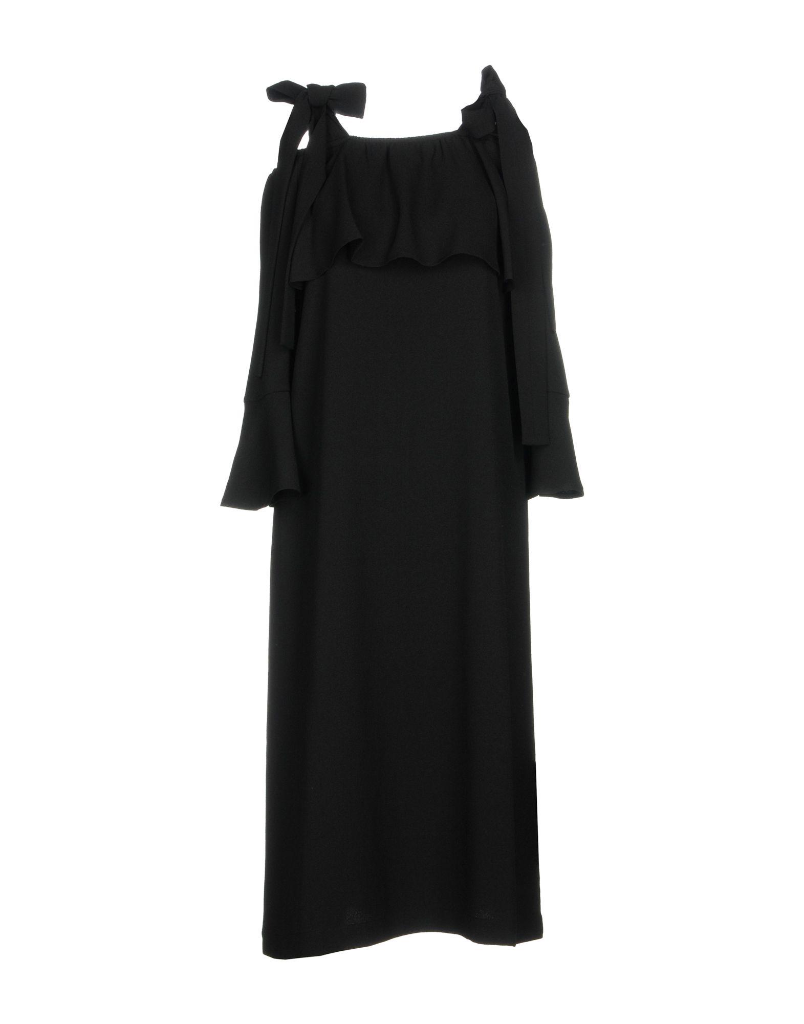 GANNI Платье до колена цена 2017
