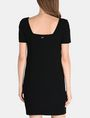 ARMANI EXCHANGE SAILOR SQUARE-NECK SHEATH Minikleid Damen r