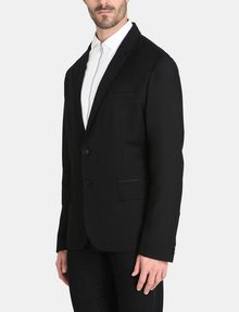ARMANI EXCHANGE TWO-BUTTON TOPSTITCHED SUIT BLAZER Blazer Man d