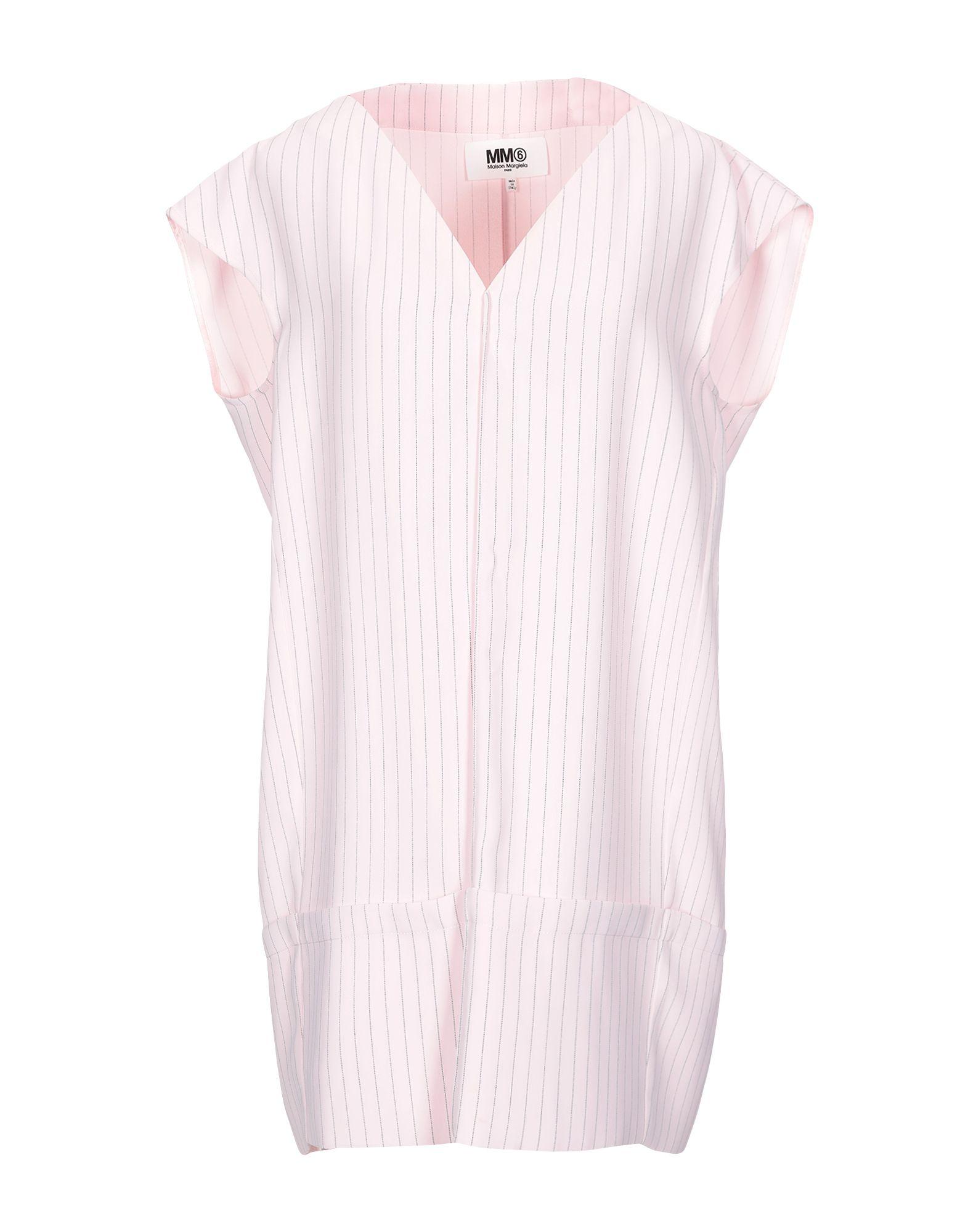 купить MM6 MAISON MARGIELA Короткое платье по цене 22000 рублей