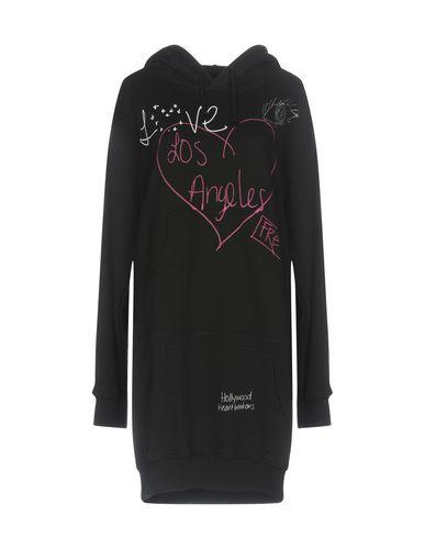 Купить Женское короткое платье  черного цвета