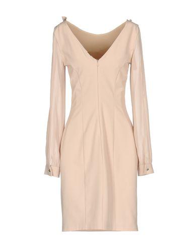 Фото 2 - Женское короткое платье  цвет голубиный серый