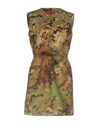 Короткое платье размер 38, 40, 42, 44, 46 цвет зелёный