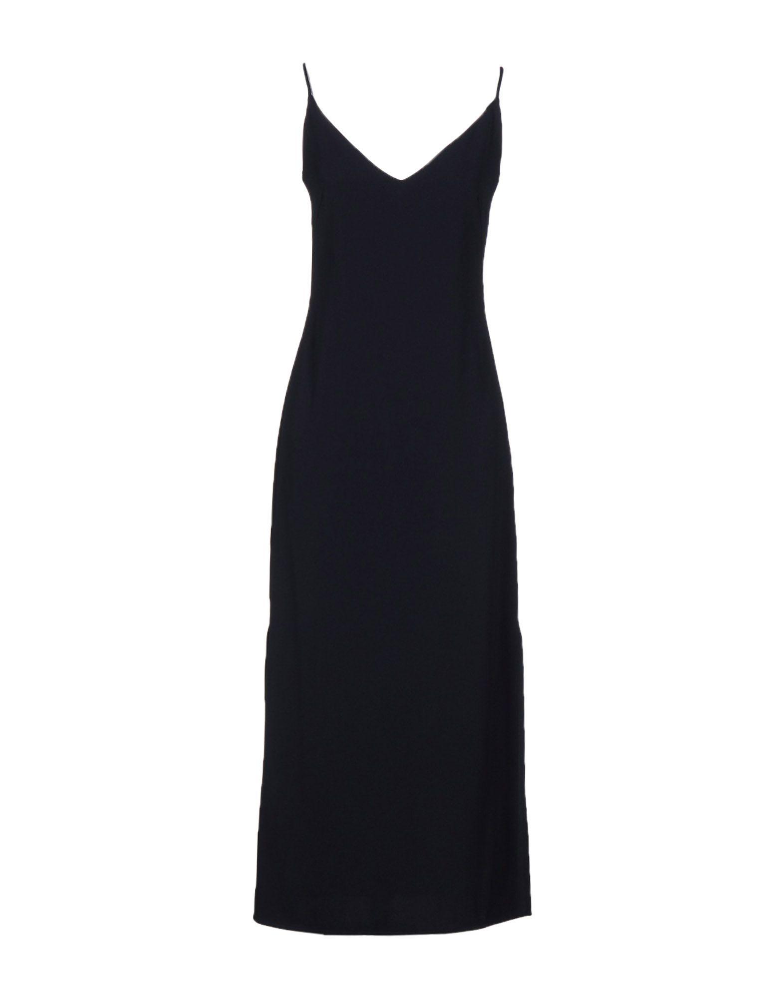 ATEA OCEANIE Long Dress in Dark Blue