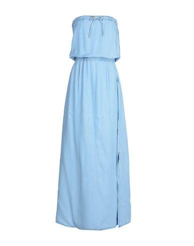 Купить Женское длинное платье  небесно-голубого цвета