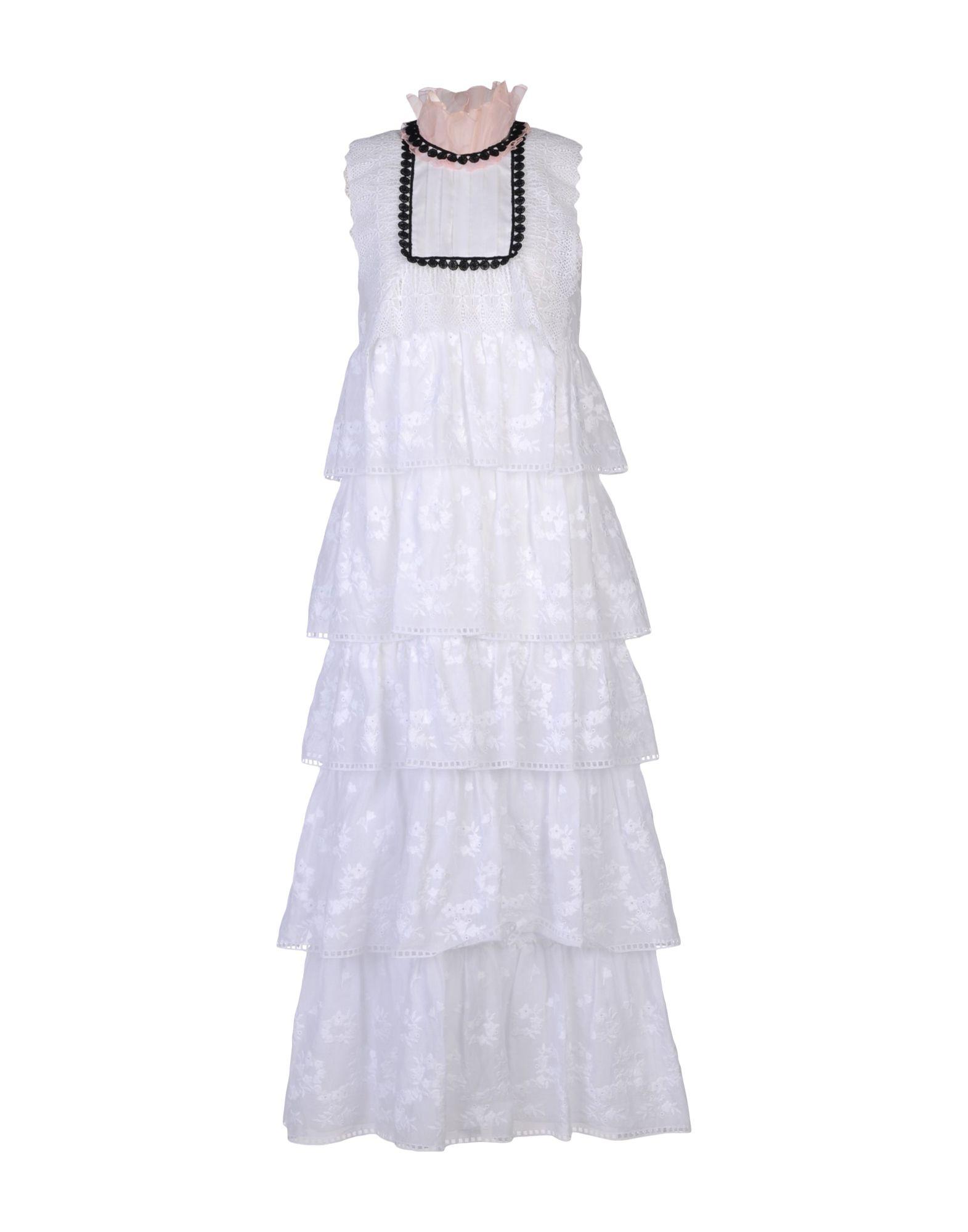 GIAMBA Платье длиной 3/4 lisa corti платье длиной 3 4