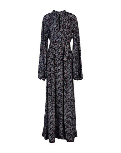 TALITHA レディース ロングワンピース&ドレス ブラック S シルク 100%