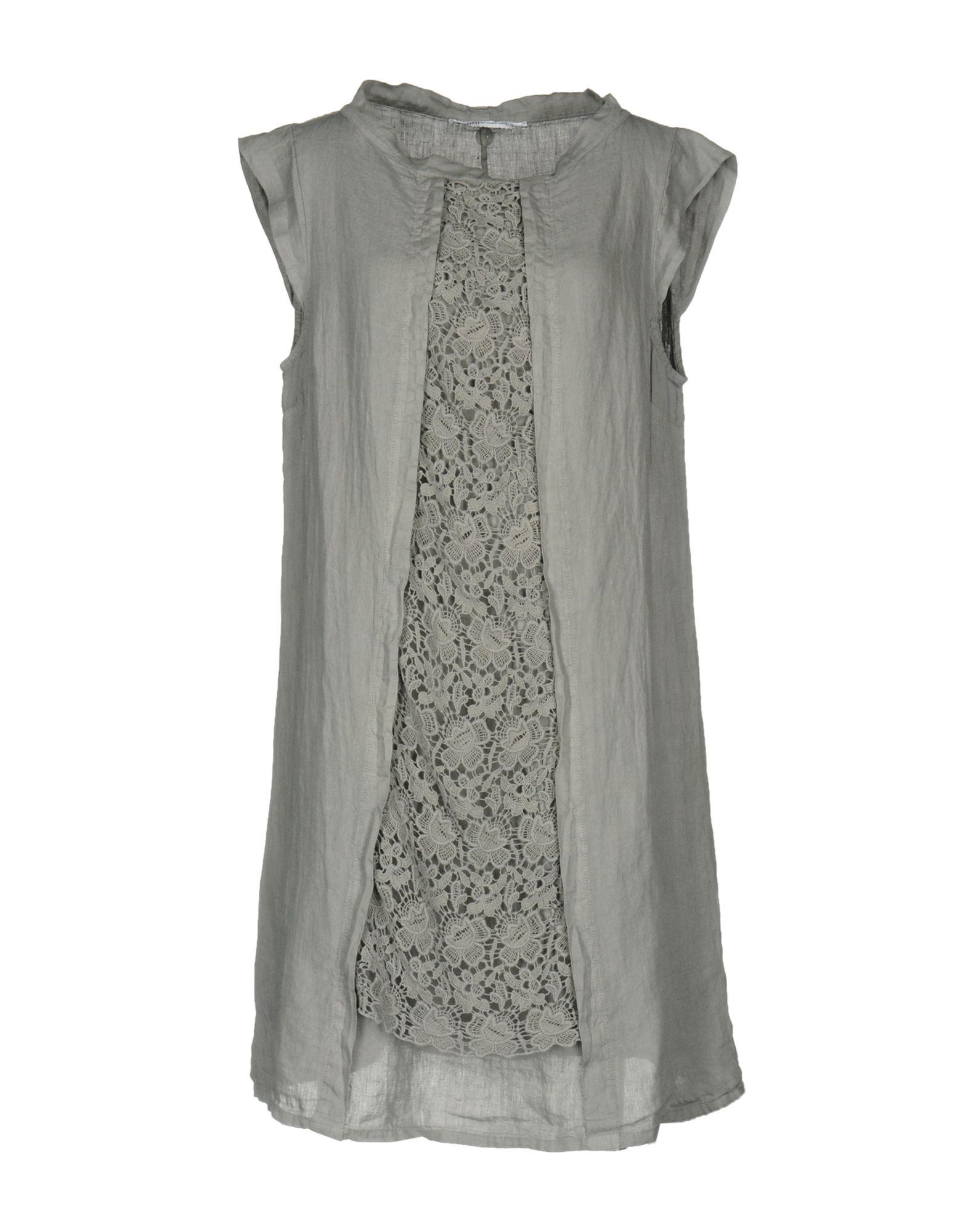 LA FABBRICA del LINO Короткое платье декор la fabbrica smart leaves ebony 48x48