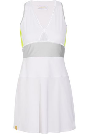 MONREAL LONDON Action stretch-jersey tennis dress