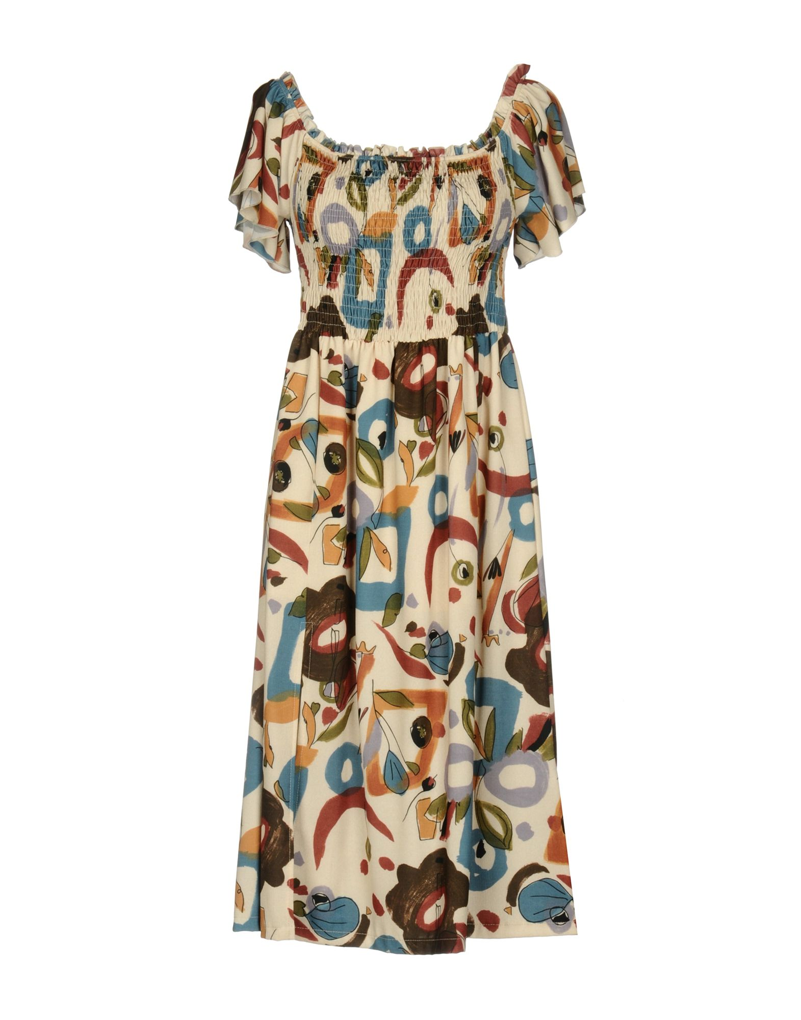 PAOLO CASALINI Платье до колена брюки paolo casalini цвет чёрный