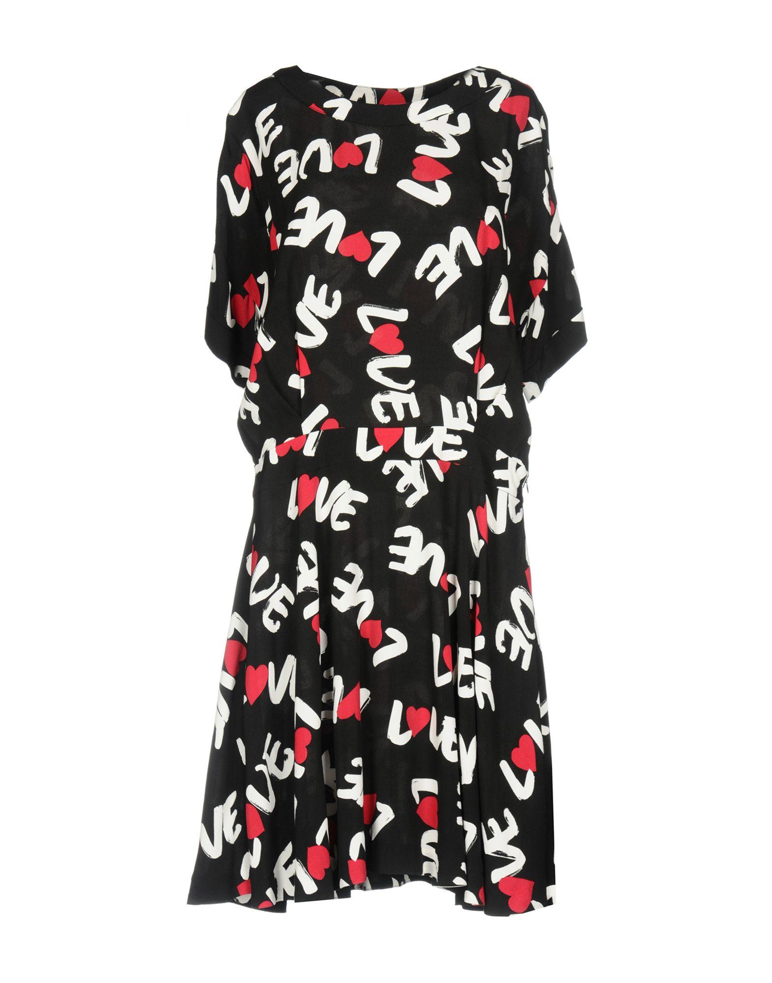 LOVE MOSCHINO Платье до колена moschino couture платье до колена