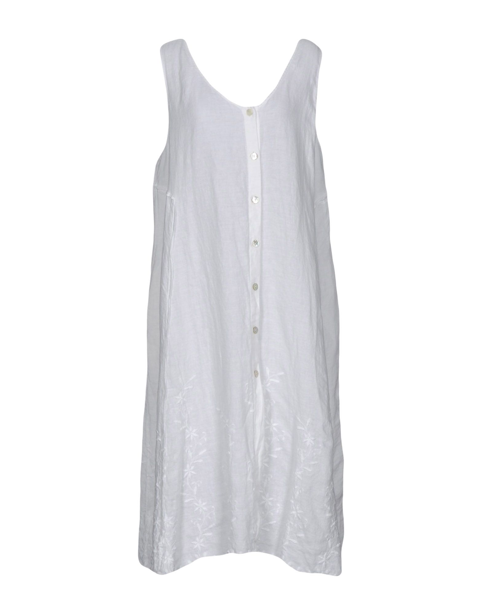 LA FABBRICA del LINO Платье длиной 3/4 рубашки lino russo рубашка индиго