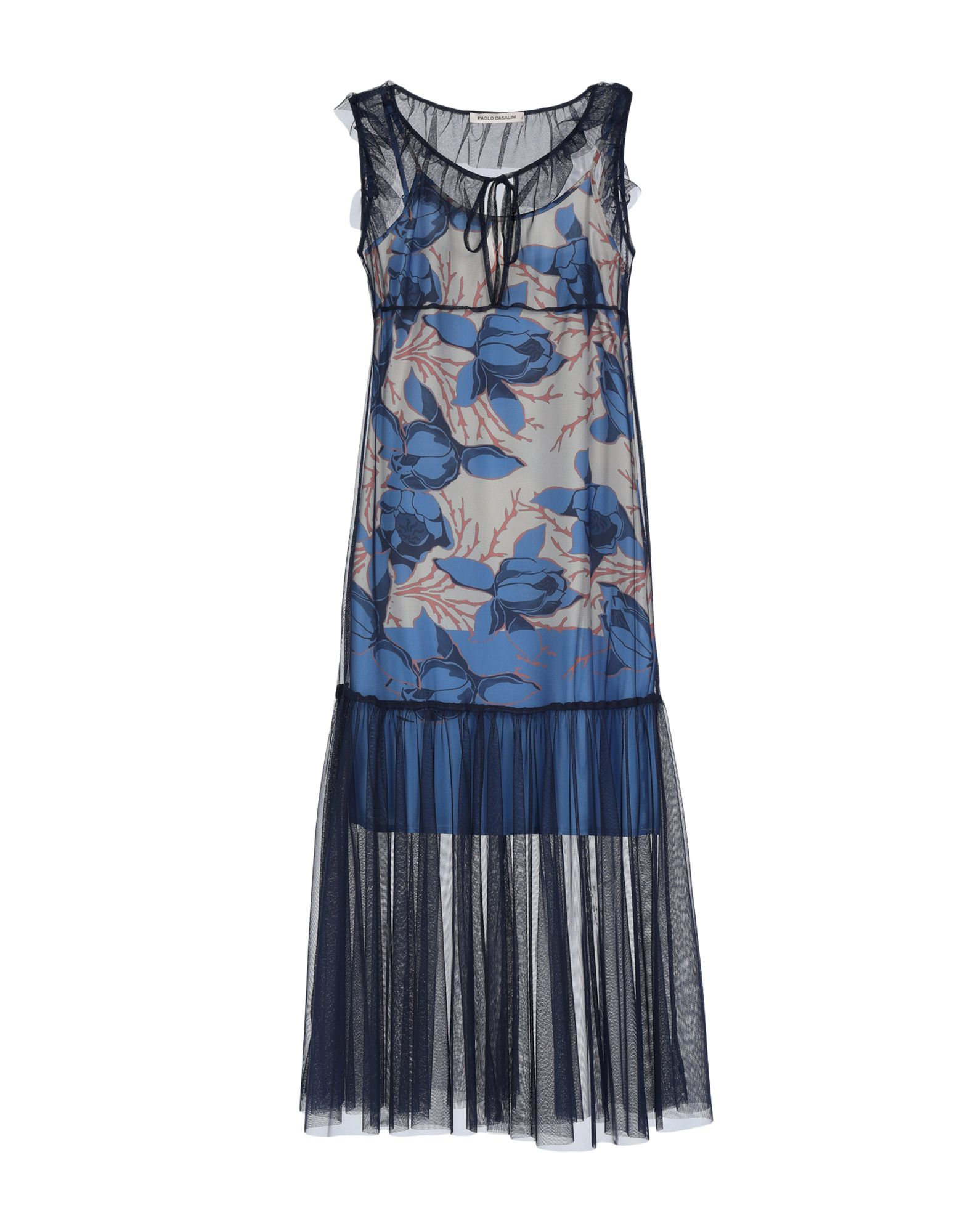 PAOLO CASALINI Платье длиной 3/4 цена 2017