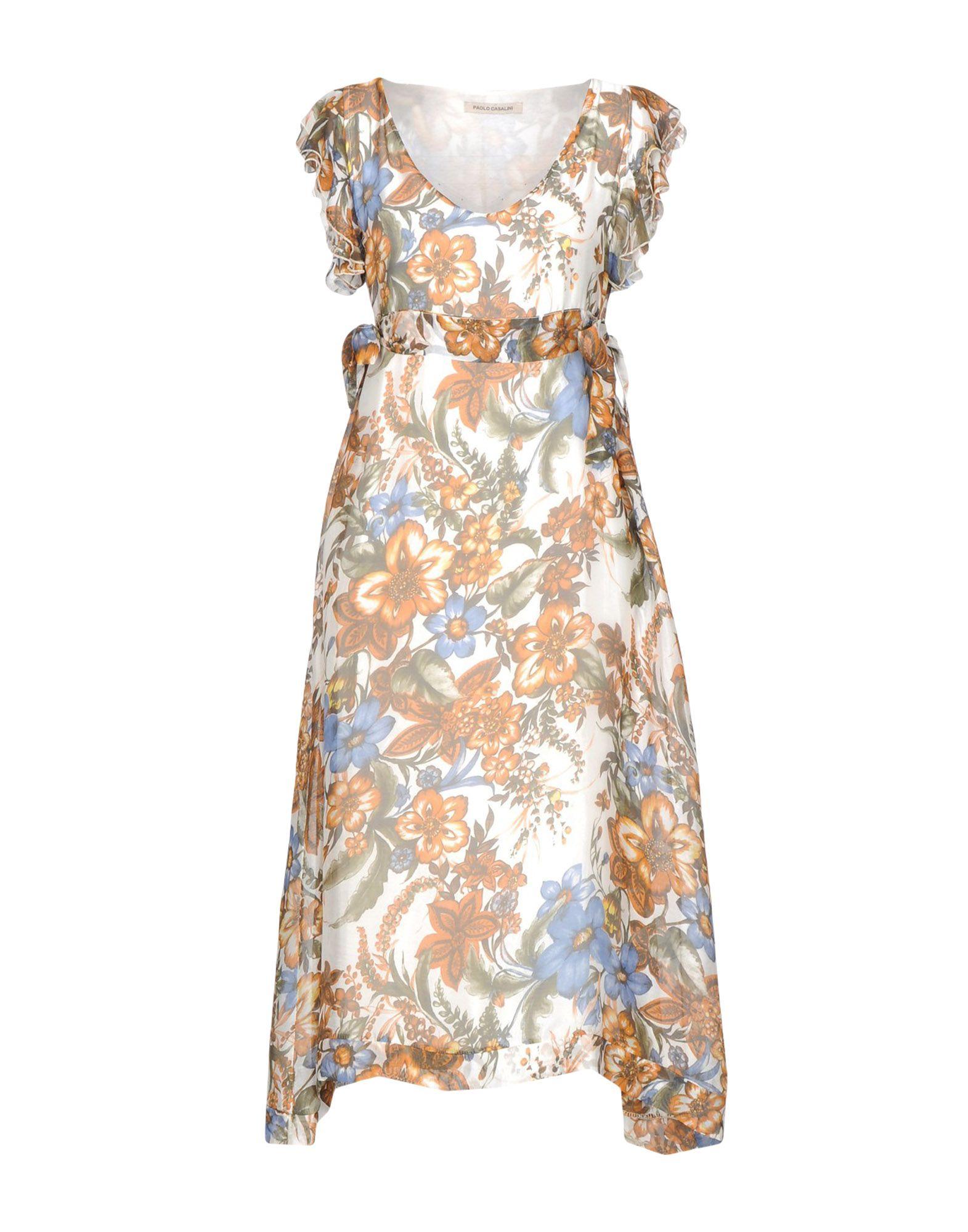 PAOLO CASALINI Платье длиной 3/4 lisa corti платье длиной 3 4