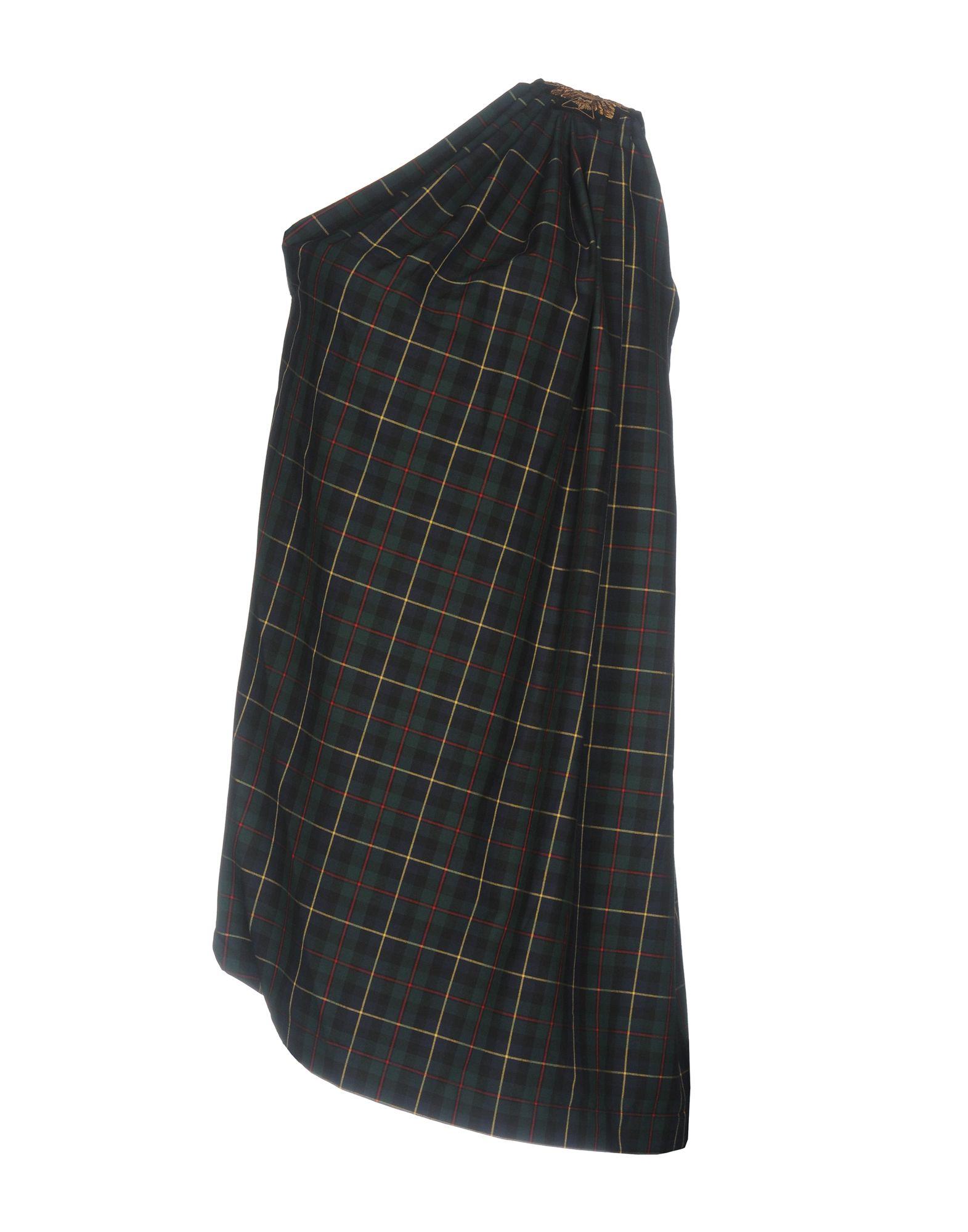 PLEIN SUD JEANS Короткое платье plein sud платье на одно плечо