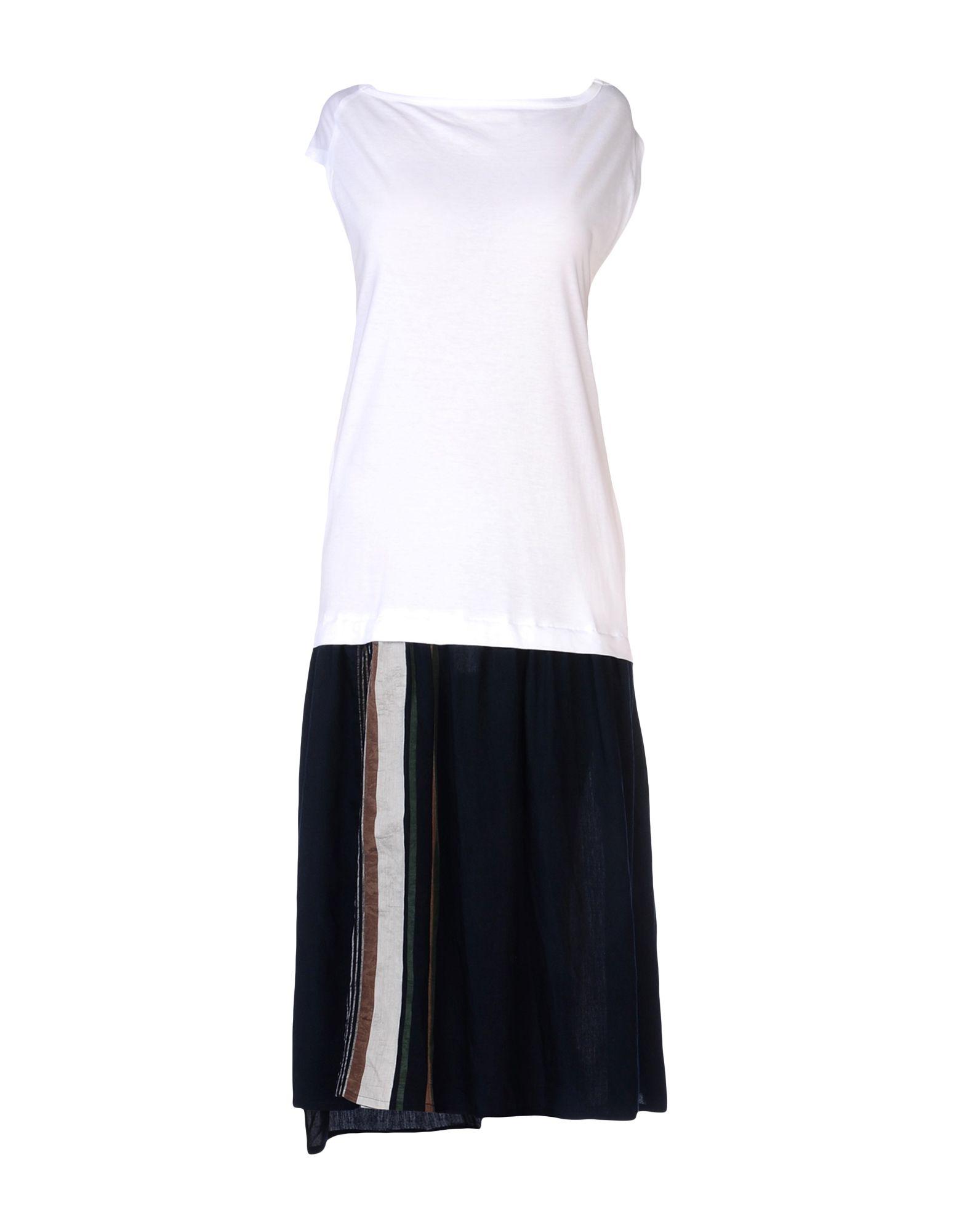 Y'S YOHJI YAMAMOTO Платье длиной 3/4 сумка other y3 yohji yamamoto t 3