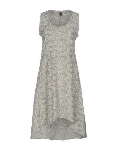 Фото - Платье до колена от JIJIL светло-серого цвета