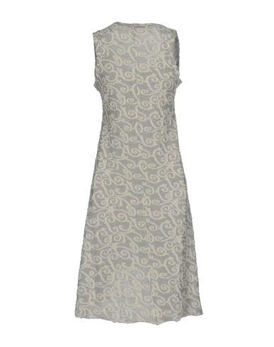 Фото 2 - Платье до колена от JIJIL светло-серого цвета