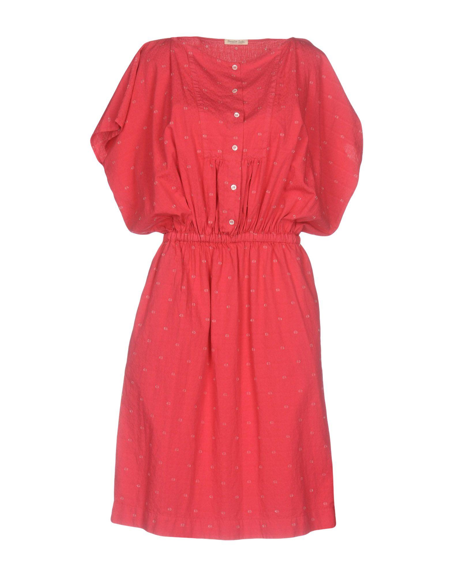 PEOPLE LAB. Короткое платье платье джинсовое lab dip lab dip la092ewyjy95
