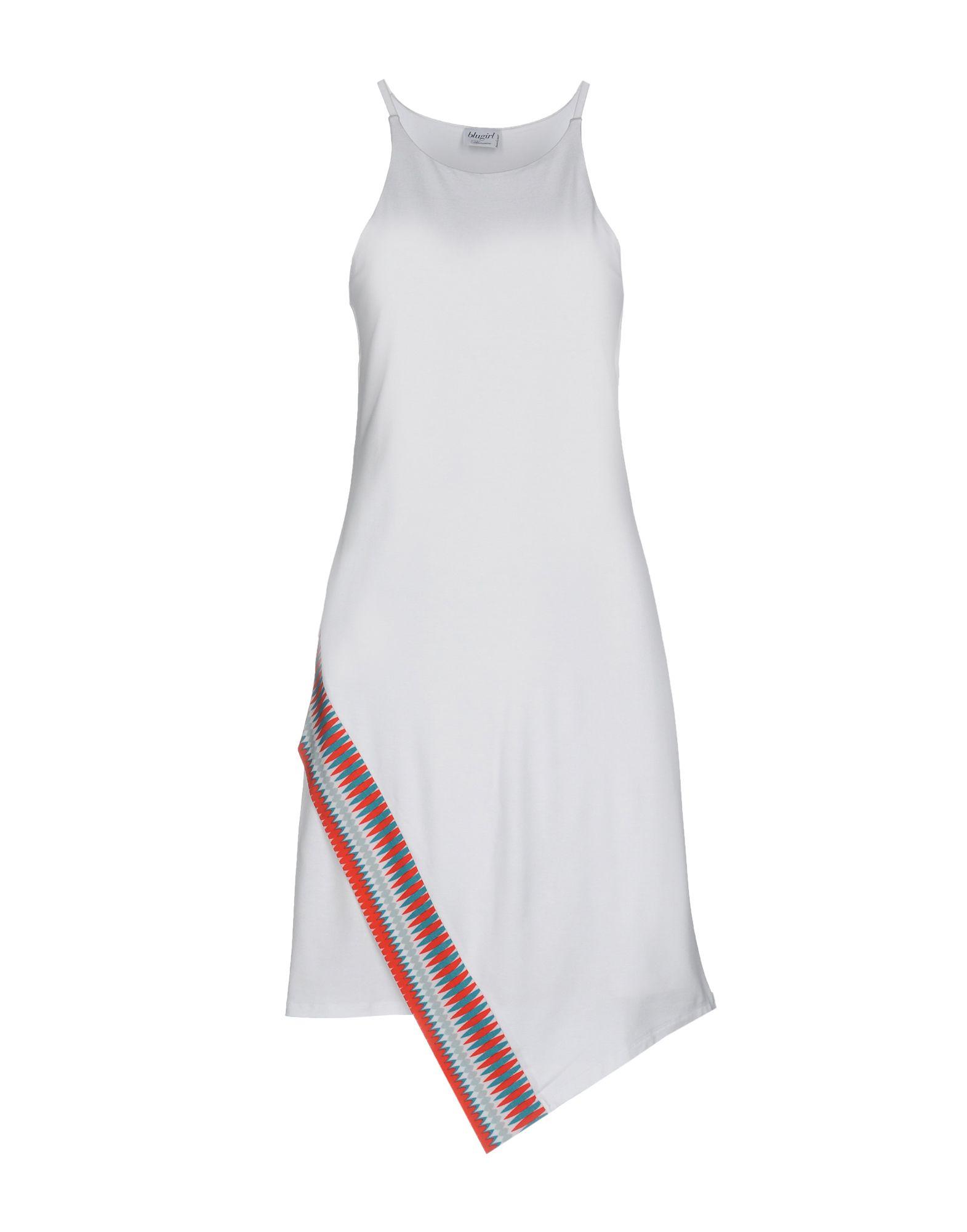 BLUGIRL BLUMARINE BEACHWEAR Короткое платье blugirl blumarine beachwear слитный купальник