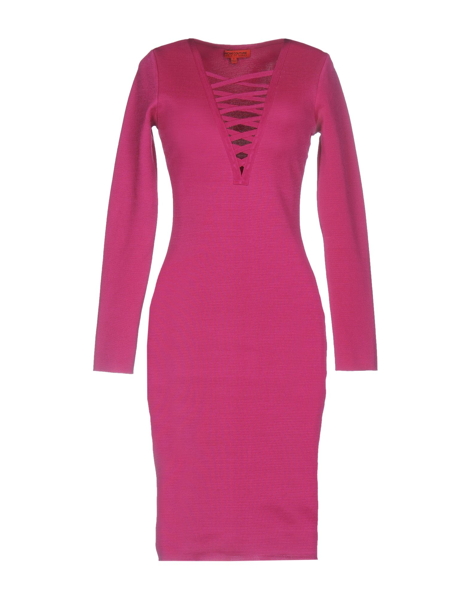 WOW COUTURE Knee-Length Dress in Mauve