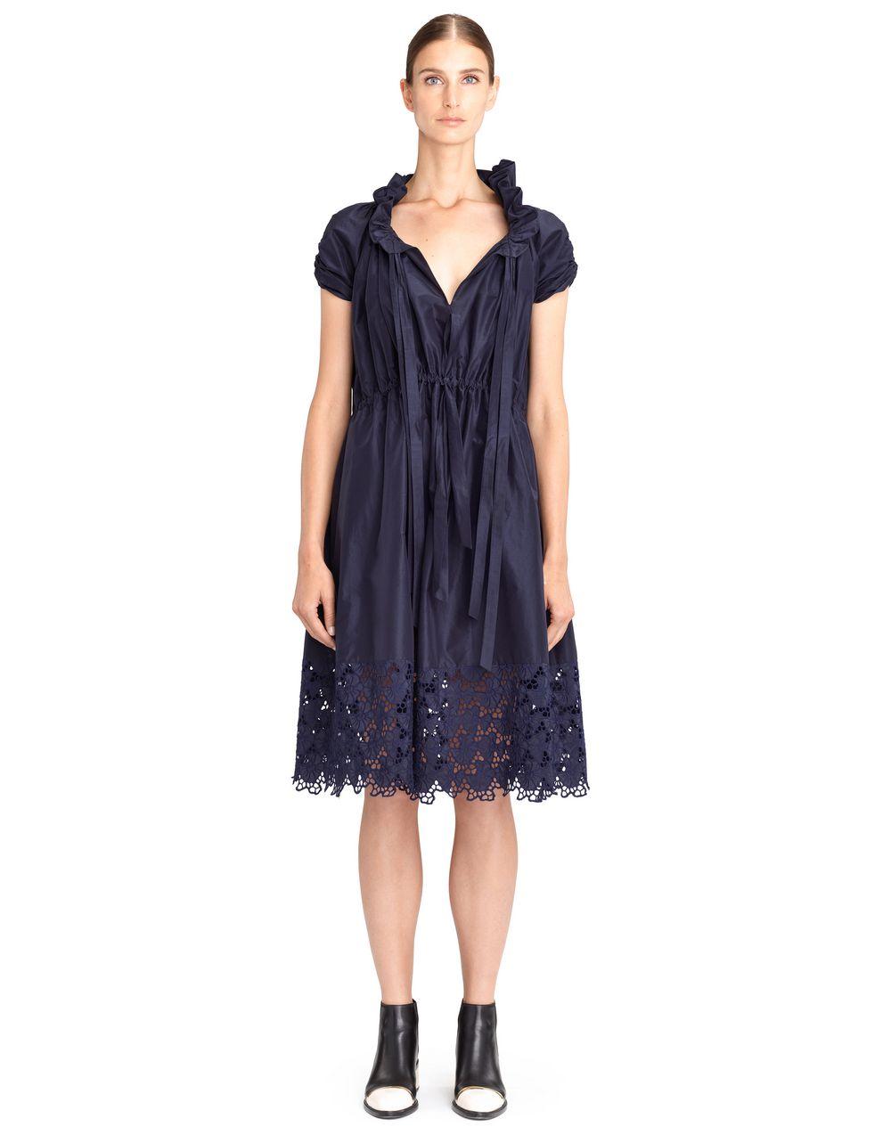 POPLIN EMBROIDERED DRESS - Lanvin
