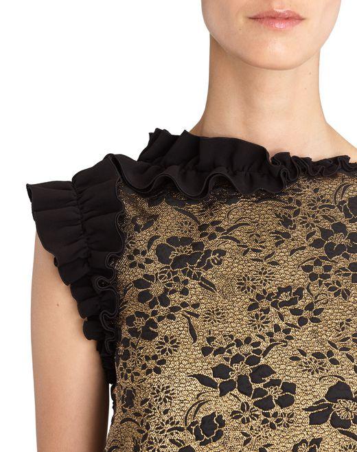 lanvin robe trapèze femme